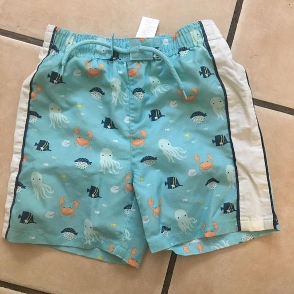 42217b3cd6 Janie and Jack Other - Janie and jack layette baby boy swim Shorts 12-18m